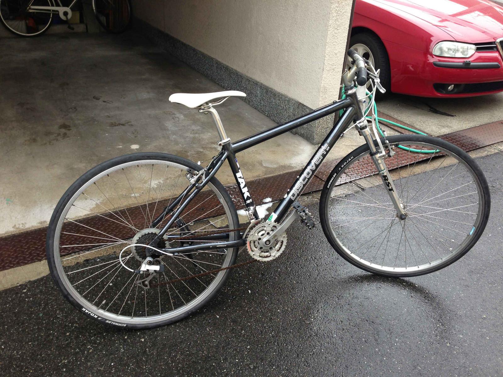 自転車の 自転車 ハンドル グリップ 汚れ : 丸洗いだけでも随分キレイに ...